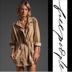 Free People Desert Anorak Hooded Jacket